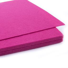 Фетр листовой жесткий IDEAL 1мм 20х30см арт.FLT-H1 цв.609 ярк.розовый фото