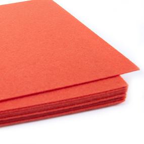 Фетр листовой жесткий IDEAL 1мм 20х30см арт.FLT-H1 цв.628 оранжевый фото