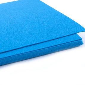 Фетр листовой жесткий IDEAL 1мм 20х30см арт.FLT-H1 цв.683 василек фото