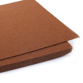 Фетр листовой жесткий IDEAL 1мм 20х30см арт.FLT-H1 цв.692 св.коричневый фото