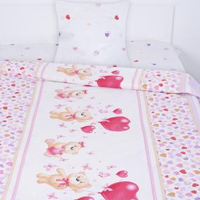 Детское постельное белье из поплина 1.5 сп 10601/1 Малыш фото