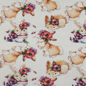 Маломеры флис Кролики 1 м фото
