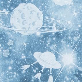 Маломеры перкаль 150 см 8814/1 Космос 5.98 м фото