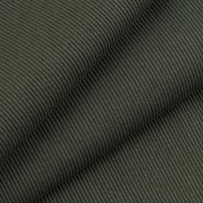 Ткань на отрез кашкорсе с лайкрой 2802 цвет хаки фото