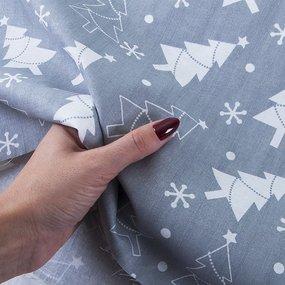 Ткань на отрез поплин 150 см 427/17 цвет серый фото