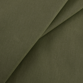 Мерный лоскут бязь гладкокрашеная 120 гр/м2 150 см цвет олива 6,4 м фото