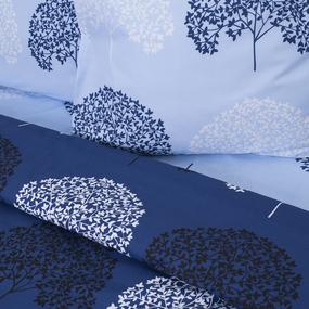 Ткань на отрез поплин 220 см 115 г/м2 28251/1 Деревья основа фото