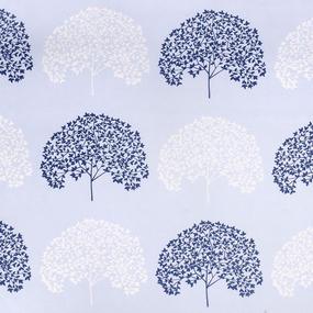 Ткань на отрез поплин 220 см 115 г/м2 28251/2 Деревья компаньон фото