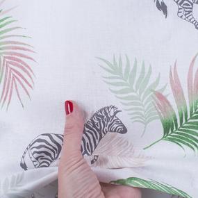 Ткань на отрез перкаль 150 см 13103/1 Тропическое лето фото