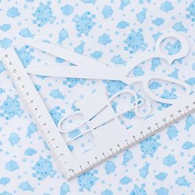 Ткань на отрез ситец 95 см 98031 Коты цвет голубой фото