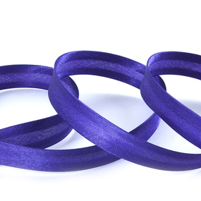 Косая бейка ширина 15 мм (132 м) цвет F170 фиолетовый фото