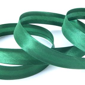 Косая бейка ширина 15 мм (132 м) цвет F243 ярко-зеленый фото