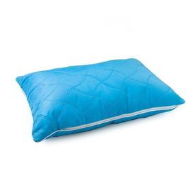Подушка декоративная чехол шелк ультрастеп голубой 40/60 фото
