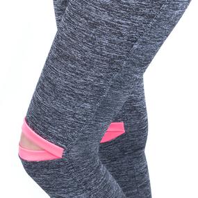 Женские спортивные легинсы 200 цвет розовый размер 40 (38-40) фото