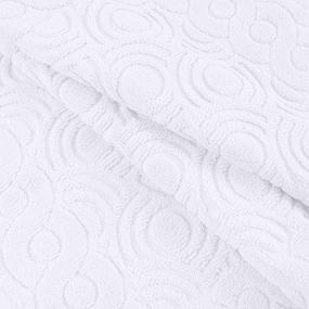 Полотенце-коврик махровое Pecorella ПЦ-103-03083 50/70 см цвет 101 белый фото