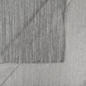 Ткань на отрез футер петля с лайкрой 10-12 меланж серая волна фото