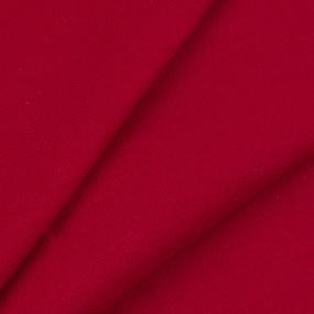 Ткань на отрез футер петля с лайкрой Tango Red 9042 фото