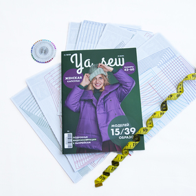 Журнал с выкройками для шитья Ya Sew №7/2020 фото