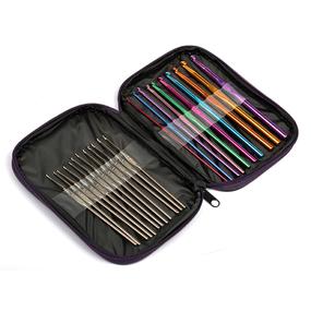 Набор алюминиевых крючков для вязания Maxwell Colors MAXW.62787 0.6-6.0 мм фото