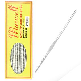 Крючки для вязания ТВ-CH03 Maxwell Colors АССОРТИ 0.6 -1.6мм фото