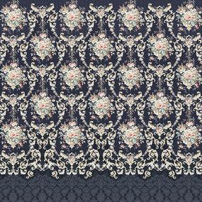 Бязь набивная 220 см Премиум Тейково рис 15362 вид 1 гр фото
