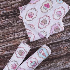 Набор детских пеленок поплин 4 шт 73/120 см 1795/1 фото