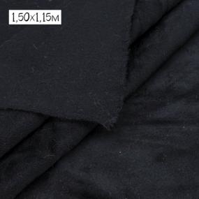 Весовой лоскут Набор №2.3 Драп черный 1,56 / 0,80 м , 1,50 / 1,15 (+/-2см) м 1,260 кг фото