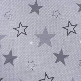 Ткань на отрез поплин 220 см Звездный 11142/1 фото