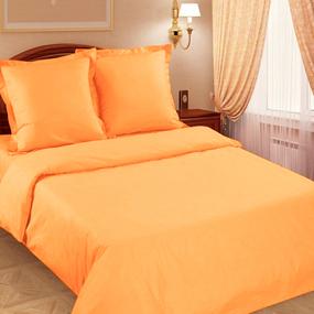 Поплин гладкокрашеный 220 см 115 гр/м2 цвет апельсин фото