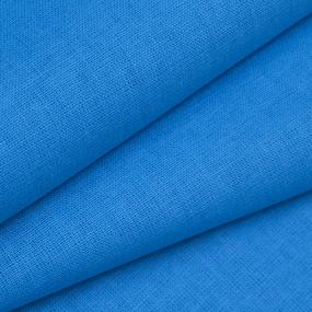 Ткань на отрез бязь М/л Шуя 150 см 12440 цвет ярко-голубой фото