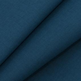 Ткань на отрез бязь ГОСТ Шуя 150 см 18400 цвет лазурно-синий фото
