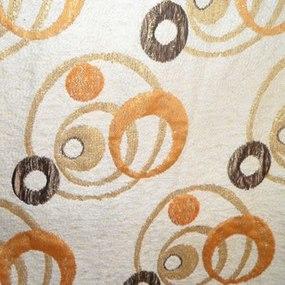 Ткань на отрез гобелен 150 см 09-3 Круги фото