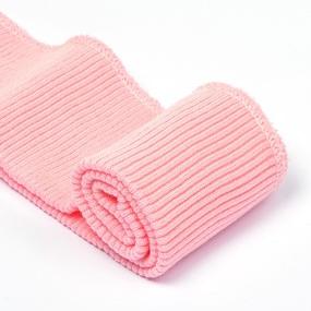 Подвяз 8х70 см 100% ПАН арт.ПРЦ-32/2 рапорт 2х2 плетение ластик цв. 587/6 неж.розовый 5шт фото
