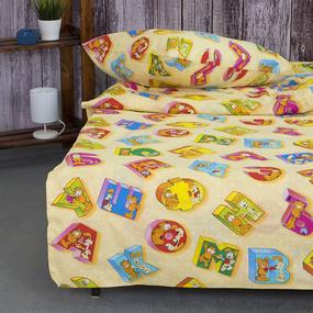 Детское постельное белье из бязи 1.5 сп 8230/1 Алфавит фото