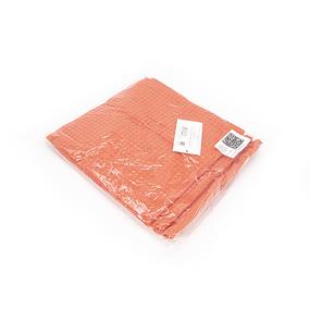 Набор вафельных полотенец Премиум 3 шт 45/70 см 017 оранжевый фото