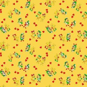 Бязь 120 гр/м2 детская 150 см 0797/3 цвет желтый фото