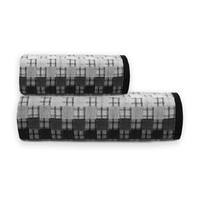 Полотенце махровое Sunvim 18-17 Мозаика 34/68 см цвет серый фото