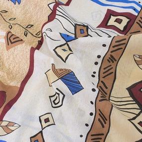 Постельное белье из бязи эконом 1621 Стамбул 1.5 сп с 1-ой нав. 70/70 фото