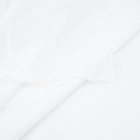Ткань на отрез креп-сатин 1960 цвет молочный фото