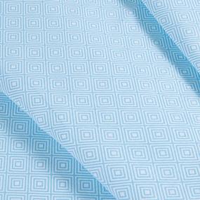 Маломеры бязь плательная 150 см 1753/2 цвет голубой 1 м фото