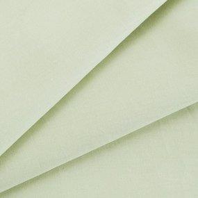 Простыня сатин цвет фисташка Евро фото