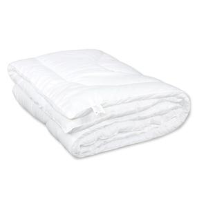Одеяло Комфорт облегченное с кантом полиэфир чехол белый п/э 150 гр/м2 200/220 фото