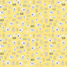 Фланель 90 см набивная арт 514 гр Тейково рис 21186 вид 4 Мишки фото