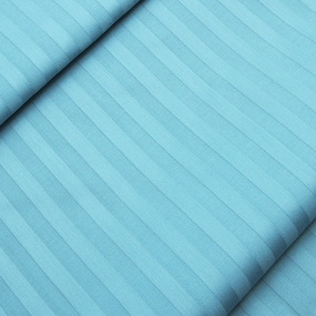 Страйп сатин полоса 1х1 см 220 см 135 гр/м2 цвет 436 бирюзовый фото