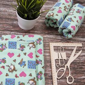 Набор детских пеленок фланель 4 шт 75/120 см 158-2П фото