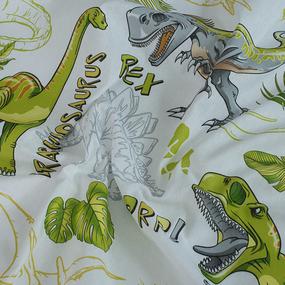Детское постельное белье из бязи 1.5 сп 204921 Эра динозавров фото