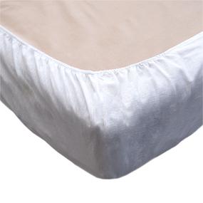 Простыня на резинке бязь отбеленная 120 гр/м2 90/200/20 см фото