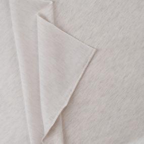 Маломеры футер петля с лайкрой 09-12 цвет белый меланж 1 м фото