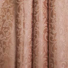 Портьерная ткань 150 см 100/2С цвет 32 т/бежевый фото