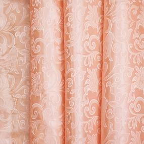 Портьерная ткань 150 см 100/2С цвет 29 персик фото